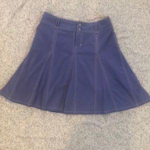 Athleta 4 Whatever Skort Skirt Purple Lavender